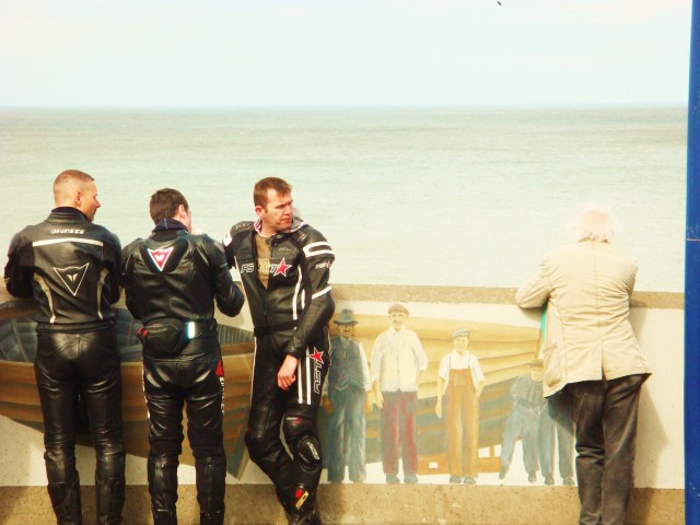 Leather Biker Boys, Sheringham