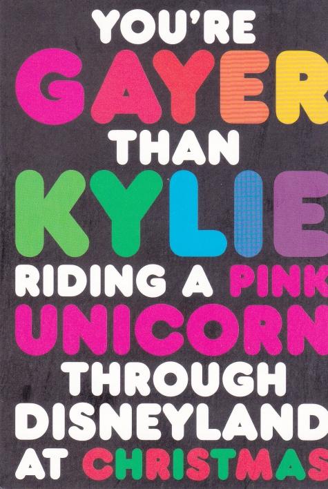 Gayer than