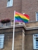 Rainbow Flag at City Hall Norwich