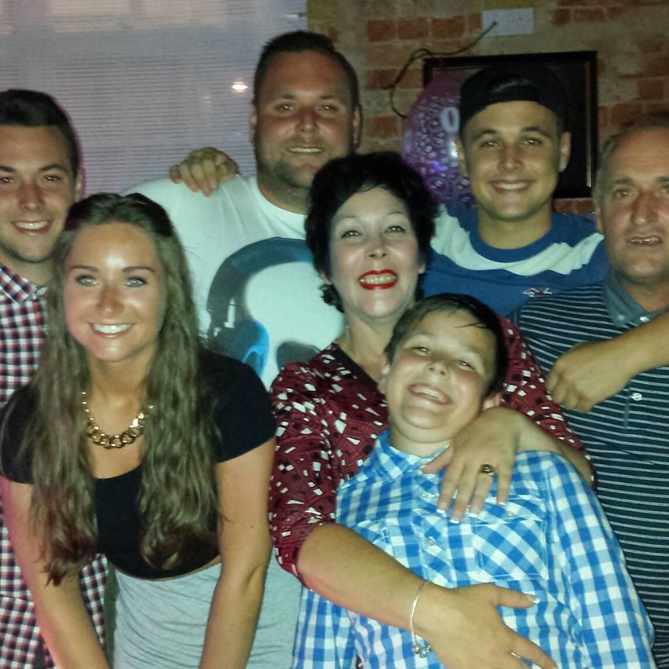 Sis and her boys
