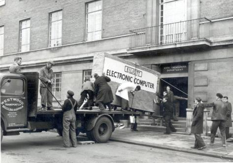 The first municipal computer was delivered to Norwich City Hall in 1957 - with the brain power of a Casio pocket calculator (probably)