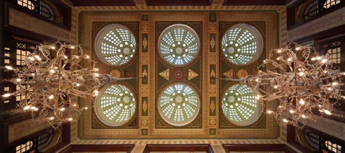 Pera Palace Ceiling