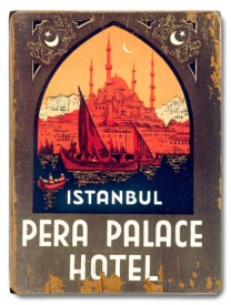Pera Palace Sign