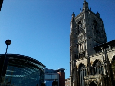 St Peter Mancroft and the Forum, Norwich