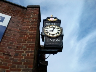 Norwich Union Clock