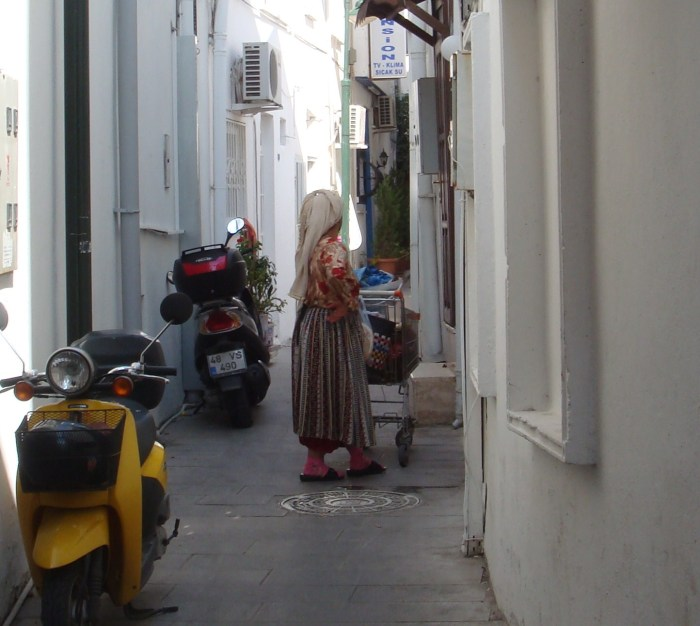 Lady in Bodrum