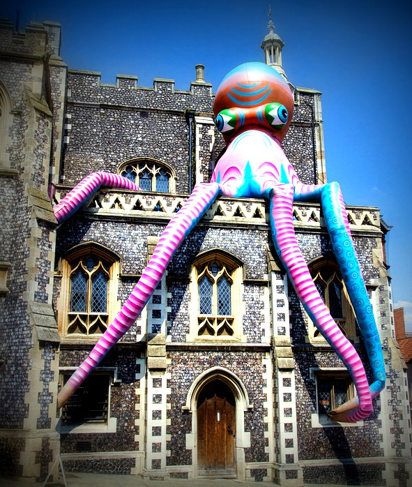 Giant Squid at the Guildhall
