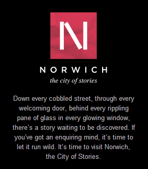 Norwich – City of Stories