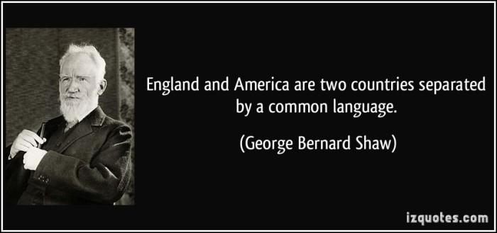George Benard Shaw