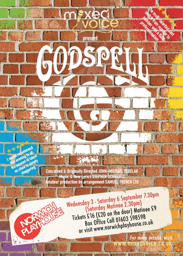 Godspell from Mixed Voice