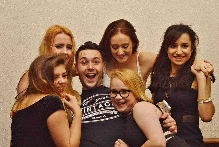 Jack's very popular with the girls