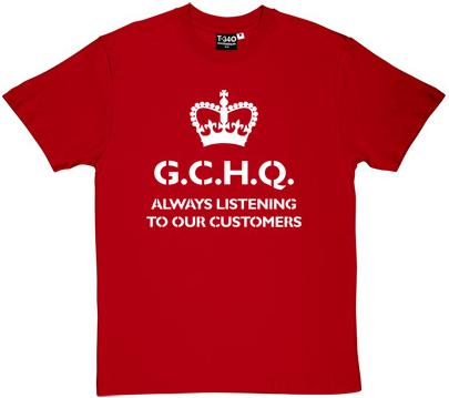 GCHQ Tee Shirt