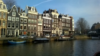 A glorious spring day in Amsterdam