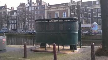 An Amsterdam pissoir