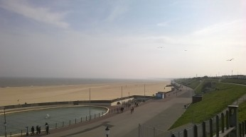 Gorleston Beach from the Cliff Hotel