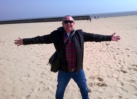 Jack Scott on Gorleston Beach