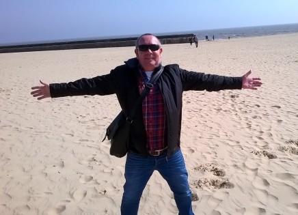 Jack Scott on Gorleston Beach