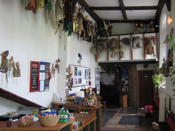 Norwich puppet theatre Interior
