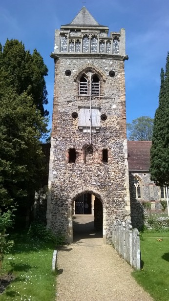 Old Thorpe St Andrew Church Tower