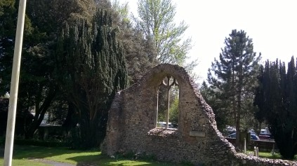 Ruins of old Thorpe St Andrew Church