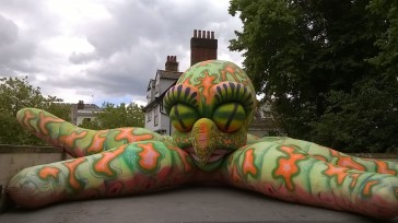 Norwich Market Invaded by a Giant Squid