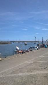 Crabbing in Wells