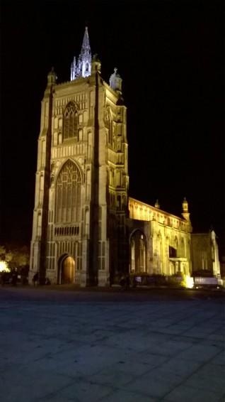 St Peter Mancroft at Night