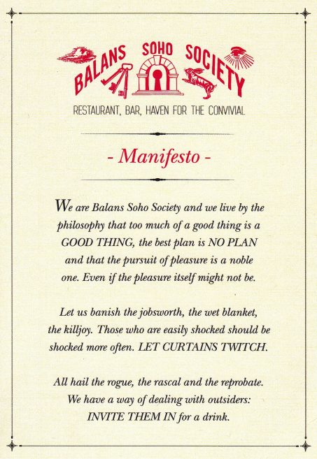 A Manifesto for Life