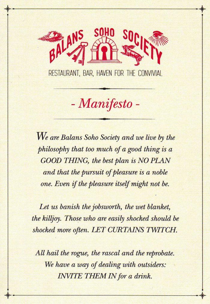 Balans Manifesto
