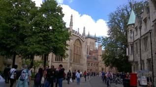 Busy Cambridge