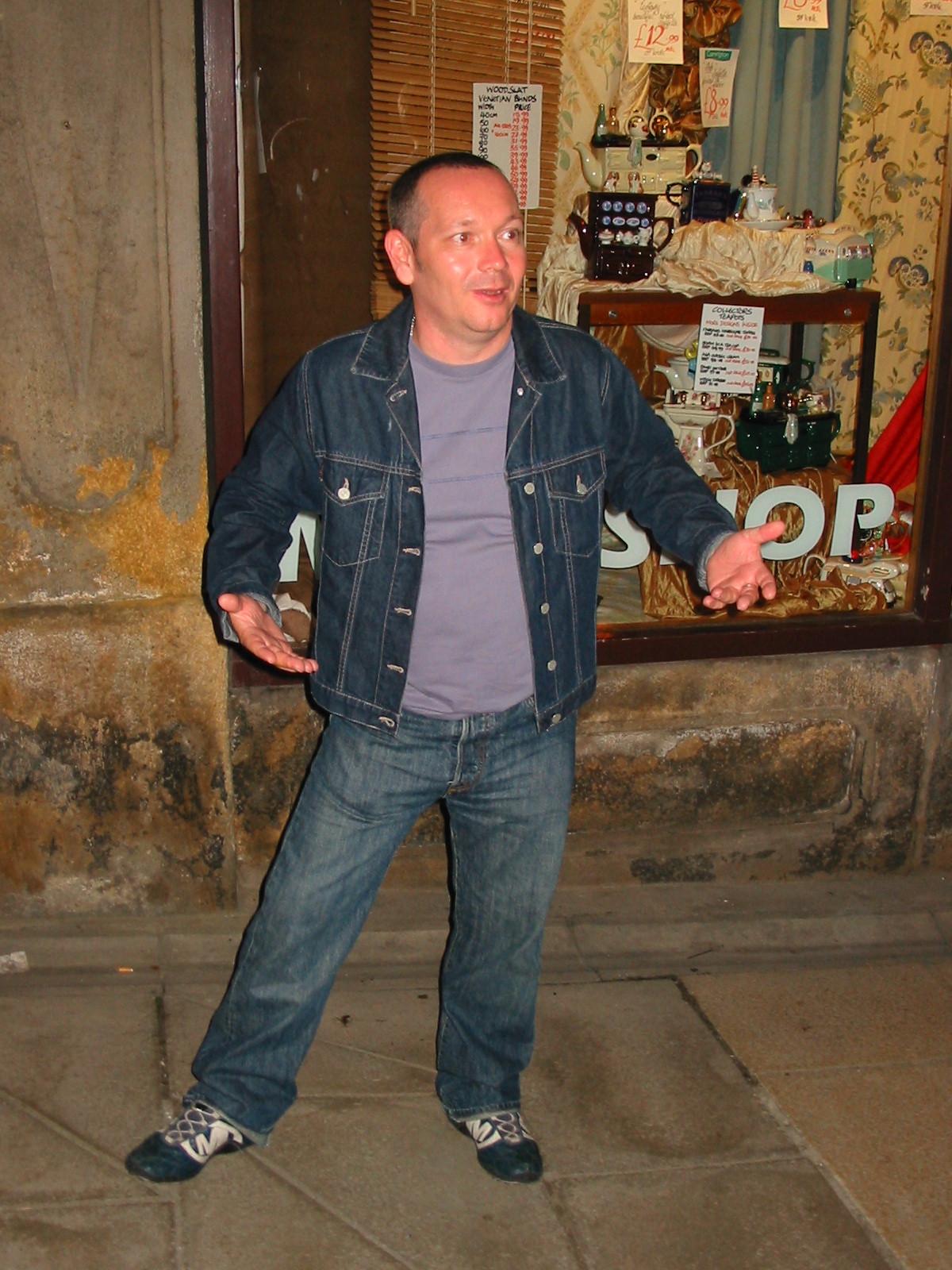 Jack in Harrogate 2003