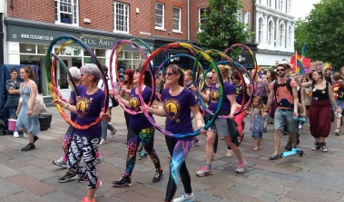 Hoola Hooping Ladies
