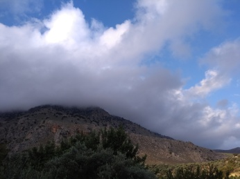 Clouds over Mount Ada
