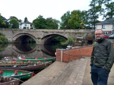 Liam on the Nidd