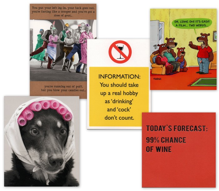 Birthday Card Collage
