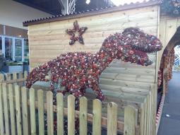 Christmas Velociraptor